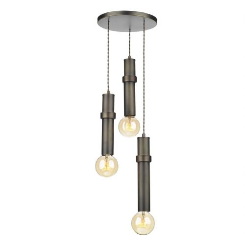 Adling 3 Light Pendant Antique Brass ADL0375 (7-10 day Delivery) (Double Insulated)